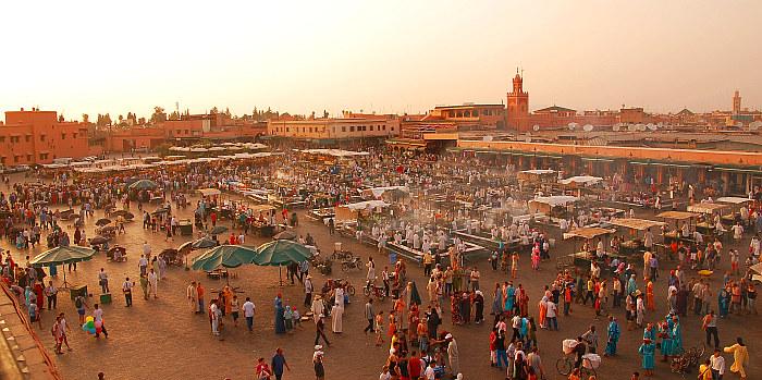 Marakešo aikštė Maroke