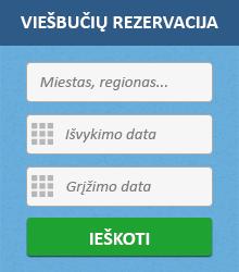 Viešbučių rezervacija internetu
